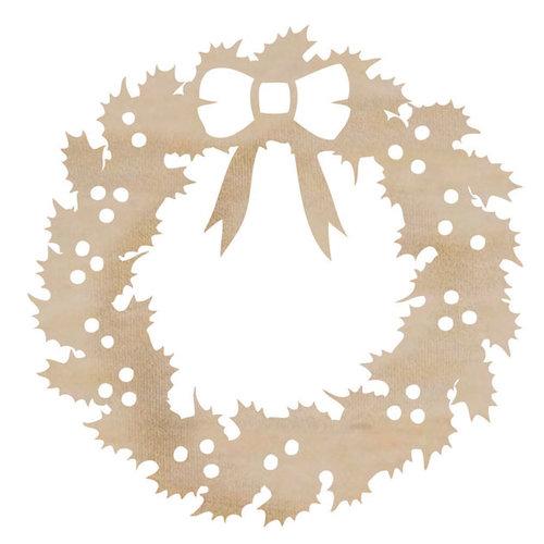 Kaisercraft - Flourishes - Die Cut Wood Pieces - Wreath