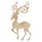 Kaisercraft - Flourishes - Die Cut Wood Pieces - Fancy Deer
