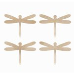 Kaisercraft - Flourishes - Die Cut Wood Pieces - Dragonflies