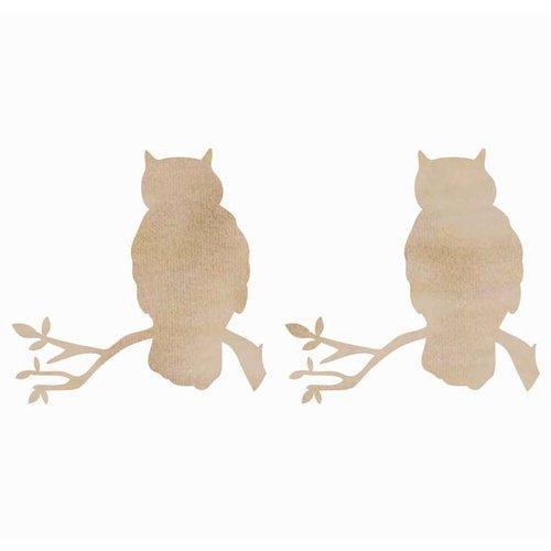 Kaisercraft - Flourishes - Die Cut Wood Pieces - Owls