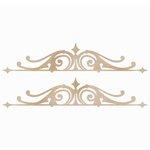Kaisercraft - Flourishes - Die Cut Wood Pieces - Ornamental Borders