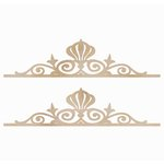 Kaisercraft - Flourishes - Die Cut Wood Pieces - Fancy Borders