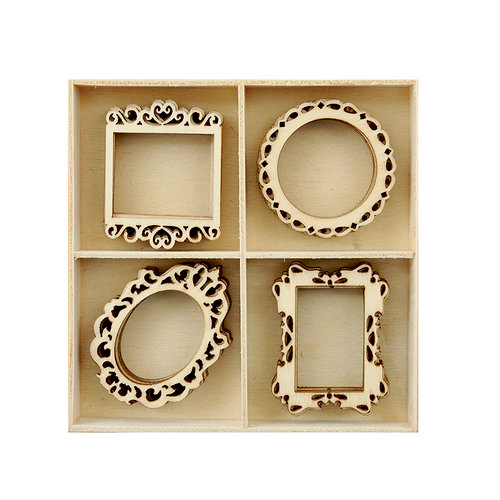 Kaisercraft - Flourishes - Die Cut Wood Pieces Pack - Frames