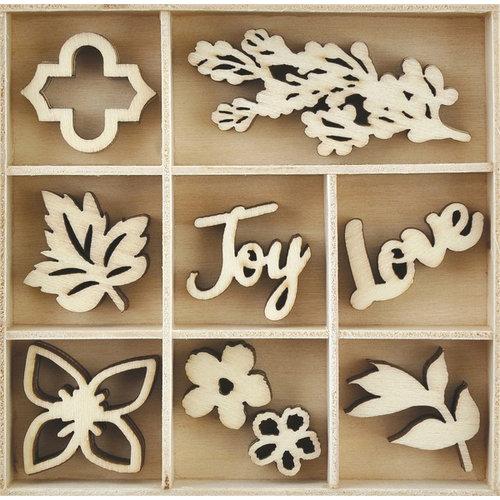 Kaisercraft - Flourishes - Die Cut Wood Pieces Pack - Bouquet