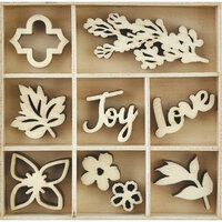 Kaisercraft - Flourishes - Die Cut Wood Pieces Pack - Bouquet