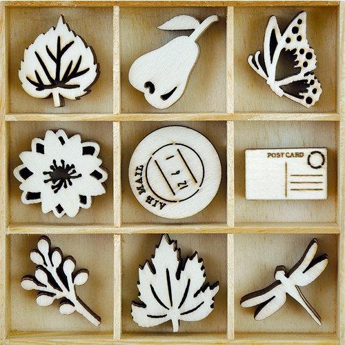 Kaisercraft - Flourishes - Die Cut Wood Pieces Pack - Harvest