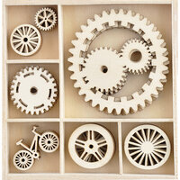 Kaisercraft - Workshop Collection - Flourishes - Die Cut Wood Pieces Pack