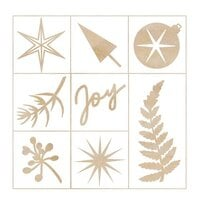 Kaisercraft - Emerald Eve Collection - Flourishes - Die-Cut Wood Pieces Pack