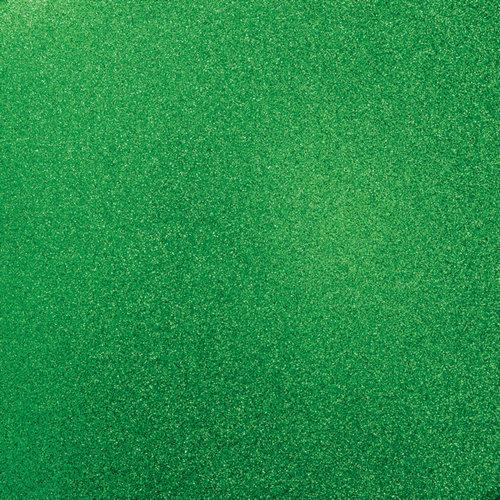 Kaisercraft - 12 x 12 Glitter Cardstock - Emerald