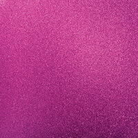 Kaisercraft - 12 x 12 Glitter Cardstock - Magenta