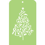 Kaisercraft - Christmas Edition Collection - Mini Designer Templates - Flourish Tree