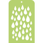 Kaisercraft - Mini Designer Templates - Raindrop