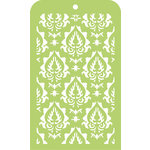 Kaisercraft - Mini Designer Templates - Damask
