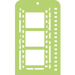 Kaisercraft - Mini Designer Templates - Film Strip