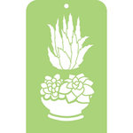 Kaisercraft - Mini Designer Templates - Succulents