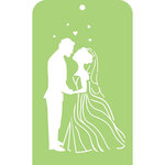Kaisercraft - Mini Designer Templates - Bride and Groom