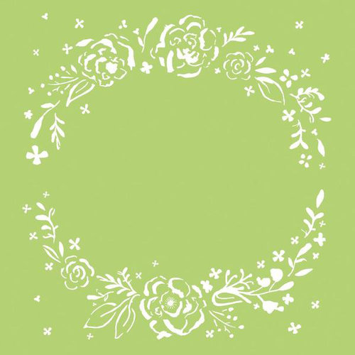 Kaisercraft - 6 x 6 Stencils Template - Floral Wreath