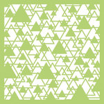 Kaisercraft - 6 x 6 Stencils Template - Abstract Triangle