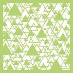 Kaisercraft - 6 x 6 Stencils Template - Abstract Triangle