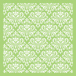 Kaisercraft - 6 x 6 Designer Template - Ornate Damask