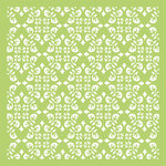 Kaisercraft - 6 x 6 Designer Templates - Diamond Flourish