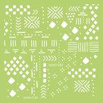 Kaisercraft - 6 x 6 Designer Templates - Tribal Collage