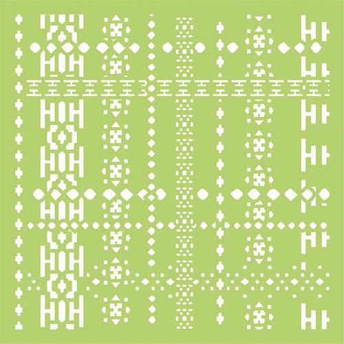 Kaisercraft - 6 x 6 Designer Templates - Nordic Weave