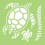 Kaisercraft - 6 x 6 Stencils Template - Turtles