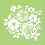 Kaisercraft - 6 x 6 Stencils Template - Bouquet