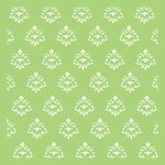 Kaisercraft - 6 x 6 Stencils Template - Small Damask
