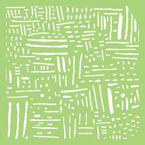 Kaisercraft - 6 x 6 Stencils Template - Line Art