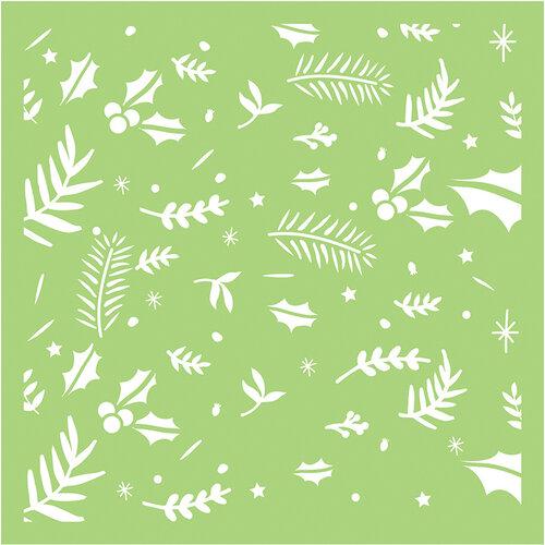 Kaisercraft - 6 x 6 Designer Templates - Festive Foliage