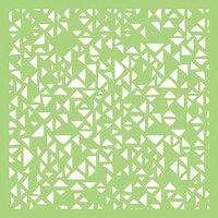 Kaisercraft - 6 x 6 Designer Templates - Tiny Triangles