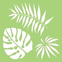 Kaisercraft - 6 x 6 Designer Templates - Tropical Leaves