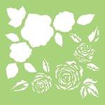 Kaisercraft - 6 x 6 Designer Templates - Full Roses