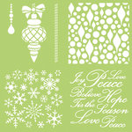Kaisercraft - Christmas - 12 x 12 Stencils Template - Ornamental