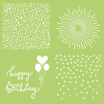 Kaisercraft - 12 x 12 Stencils Template - Celebrate