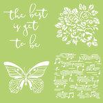 Kaisercraft - 12 x 12 Stencils Template - Butterfly