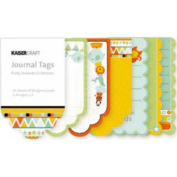 Kaisercraft - Party Animals Collection - Journal Tags