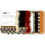 Kaisercraft - Velvet Ensemble Collection - Journal Tags