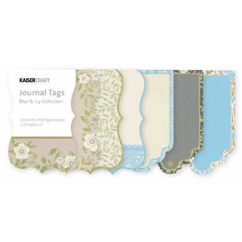 Kaisercraft - Blae and Ivy Collection - Journal Tags