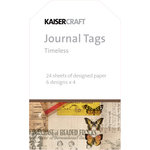 Kaisercraft - Timeless Collection - Journal Tags