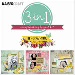 Kaisercraft - Be-YOU-tiful Collection - 12 x 12 Layout Kit