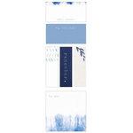 Kaisercraft - The Indigo Collection - Kaiserstyle - Adhesive Notes