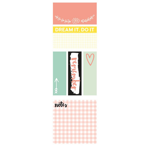 Kaisercraft - Kaiserstyle - Bloom Collection - Adhesive Notes