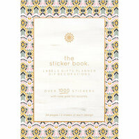 Kaisercraft - Kaiserstyle - Wanderlust Collection - Sticker Book with Foil Accents