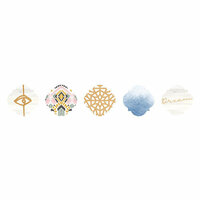 Kaisercraft - Kaiserstyle - Wanderlust Collection - Sticker Roll with Foil Accents