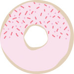 Kaisercraft - Kaiserstyle - Glorious Collection - Adhesive Notes - Donut