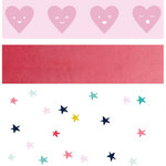 Kaisercraft - Kaiserstyle - Glorious Collection - Printed Tape with Foil Accents