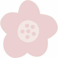 Kaisercraft - Kaiserstyle - Rosy Collection - Adhesive Notes - Flower